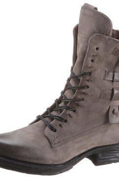 a.s.98 hoge veterschoenen »saintec« bruin