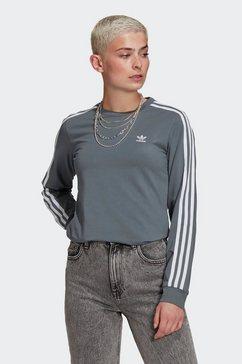 adidas originals shirt met lange mouwen grijs
