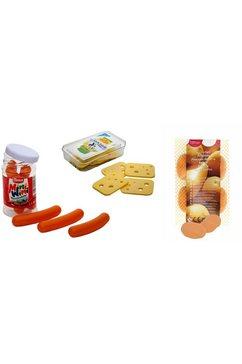 tanner boodschappenassortiment worstjes, kaas, aardappel (set) multicolor