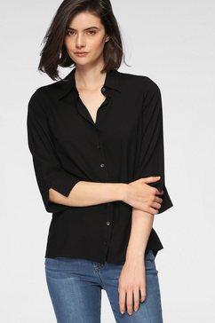 otto products klassieke blouse duurzaam van zachte lenzing™ ecovero™-viscose zwart