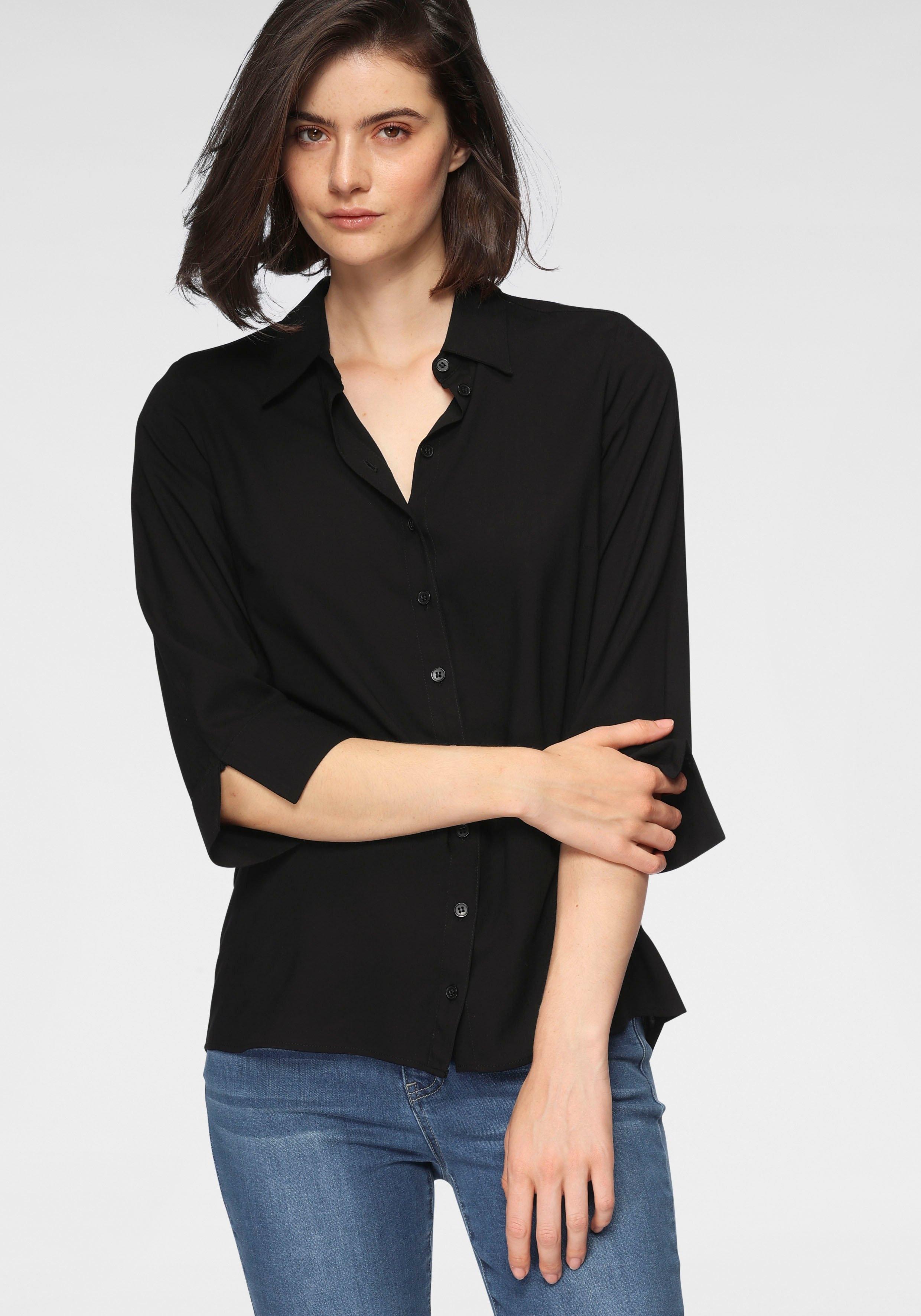 OTTO products klassieke blouse duurzaam van zachte lenzing™ ecovero™-viscose bestellen: 30 dagen bedenktijd