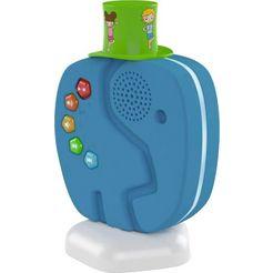 technisat luidspreker technifant audiospeler voor kinderen, met nachtlicht blauw
