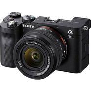 sony full-frame digitale camera ilce-7clb - alpha 7c e-mount met sel2860 fe 28–60 mm f4–5,6, 24,2 mp, 4k video, 7,5 cm (3 inch) touchscreen, realtime-af, 5-assige beeldstabilisatie, nfc, bluetooth zwart
