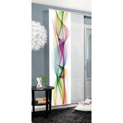 home wohnideen paneelgordijn »schiebevorhang dekostoff digitaldruck 'bolge'« 1 stuk multicolor