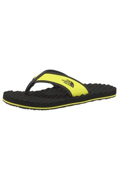 the north face teenslippers geel