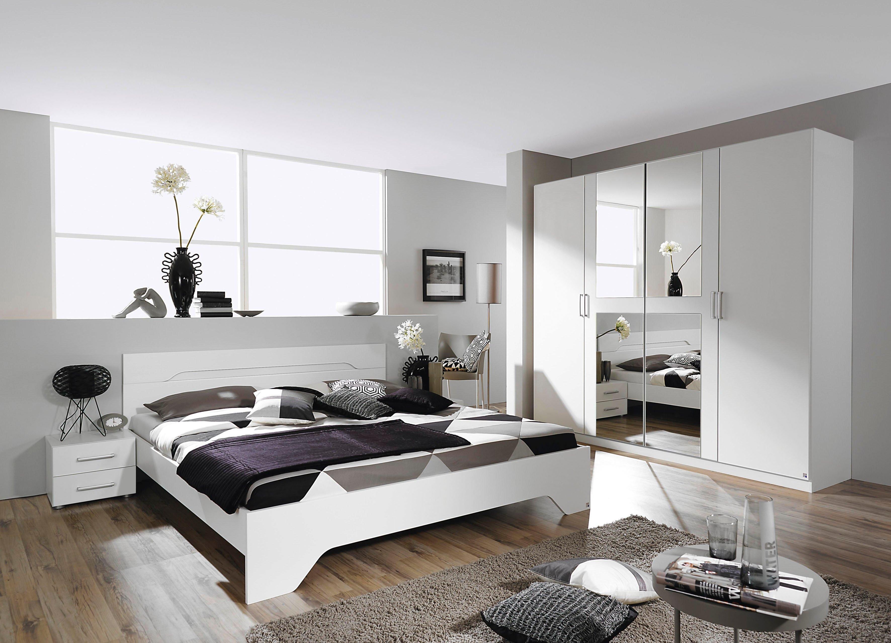 Rauch SELECT slaapkamerserie Rubi met kast, bed 180x200 cm en 2 nachtkastjes (set, 4 stuks) - gratis ruilen op otto.nl