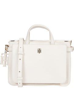 tommy hilfiger tas »soft satchel« wit