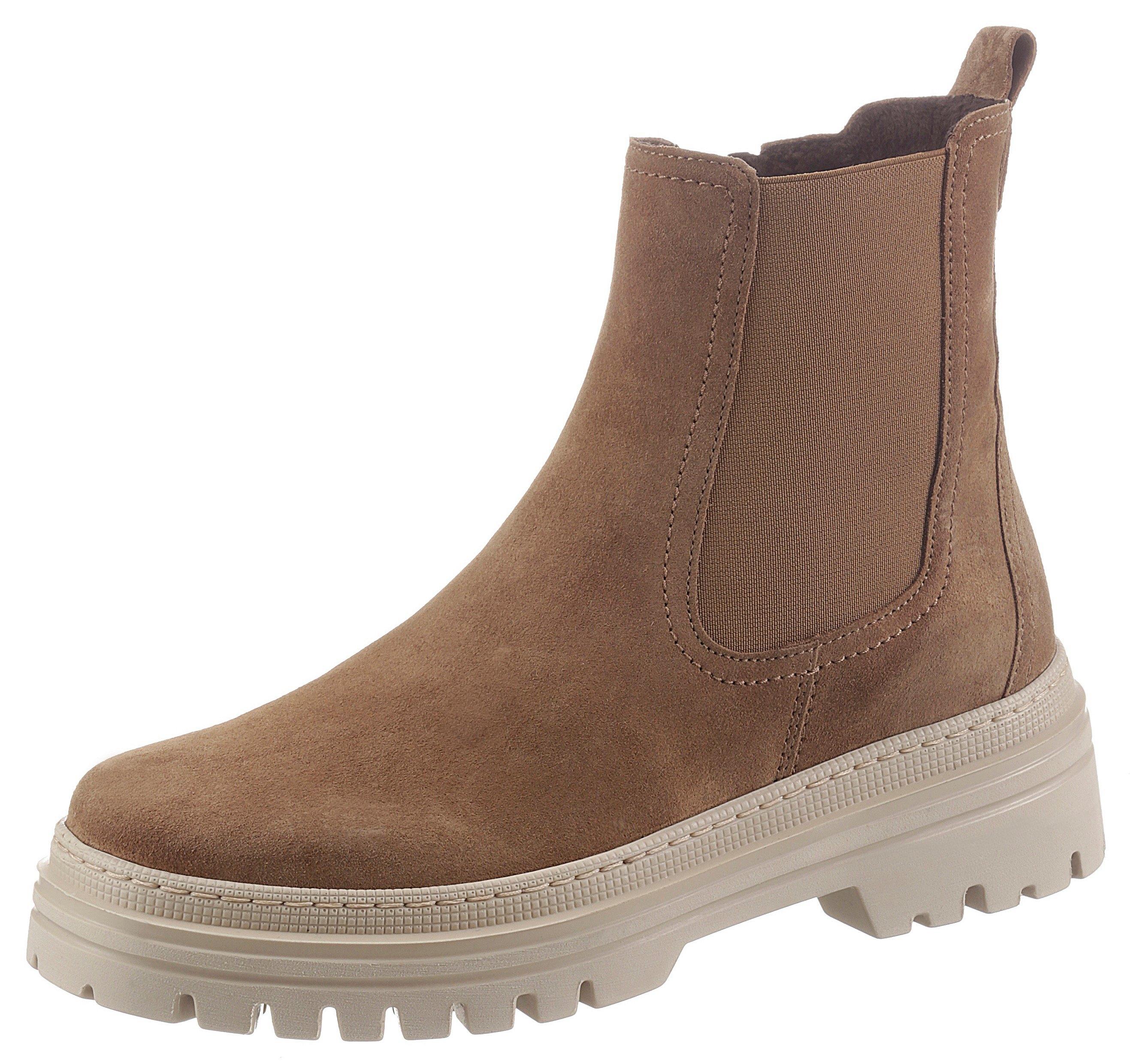 Gabor Chelsea-boots met contrast-doorstiknaad - verschillende betaalmethodes
