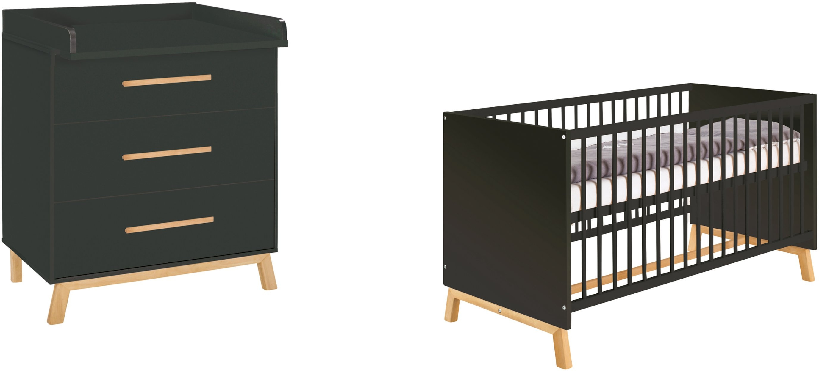 Op zoek naar een Schardt babymeubelset Sienna Black met kinderbed en commode; made in germany (voordeelset, 2 stuks)? Koop online bij OTTO