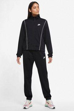 nike sportswear trainingspak womens track suit (set, 2-delig) zwart
