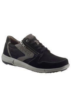 josef seibel sneakers enrico 20 met modieuze contrast-details zwart