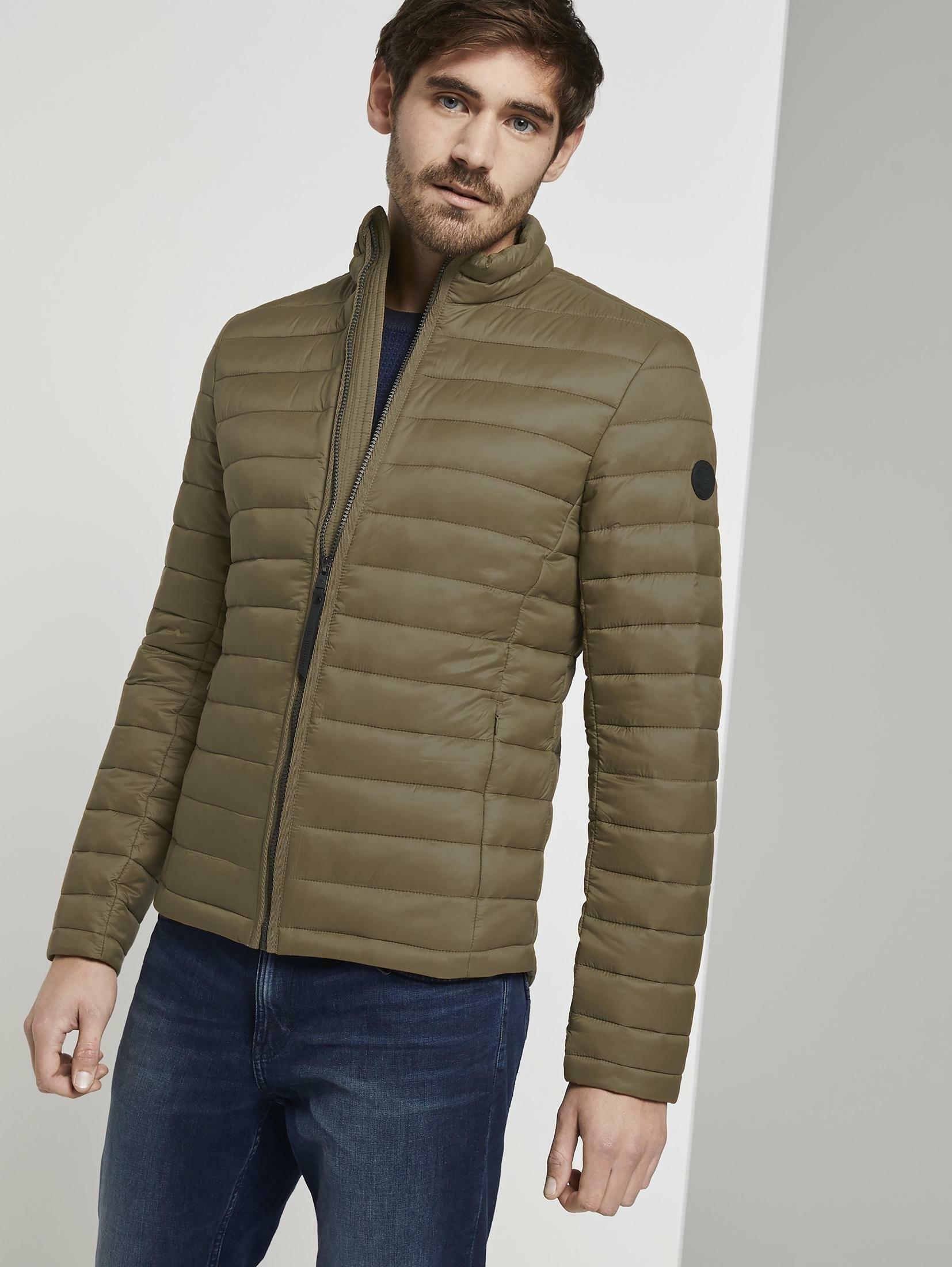 Tom Tailor gewatteerde jas Licht jasje met opstaande kraag nu online kopen bij OTTO