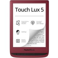 """pocketbook e-book touch lux 5, 6 """", linux rood"""