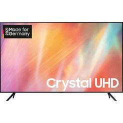 "samsung led-tv gu75au7179u, 189 cm - 75 "", 4k ultra hd, smart-tv grijs"