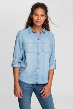 tom tailor jeansblouse blauw