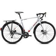 fuji bikes »jari 2.1 ltd« gravelbike zilver
