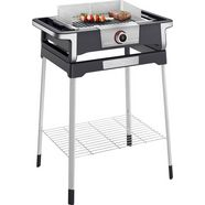 severin »senoa digital boost s pg 8118« staande barbecue zwart