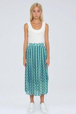 pepe jeans zomerrok alba leuk geometrisch motief multicolor