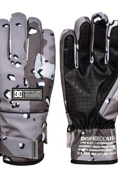 dc shoes ski-snowboard handschoenen »franchise« bruin