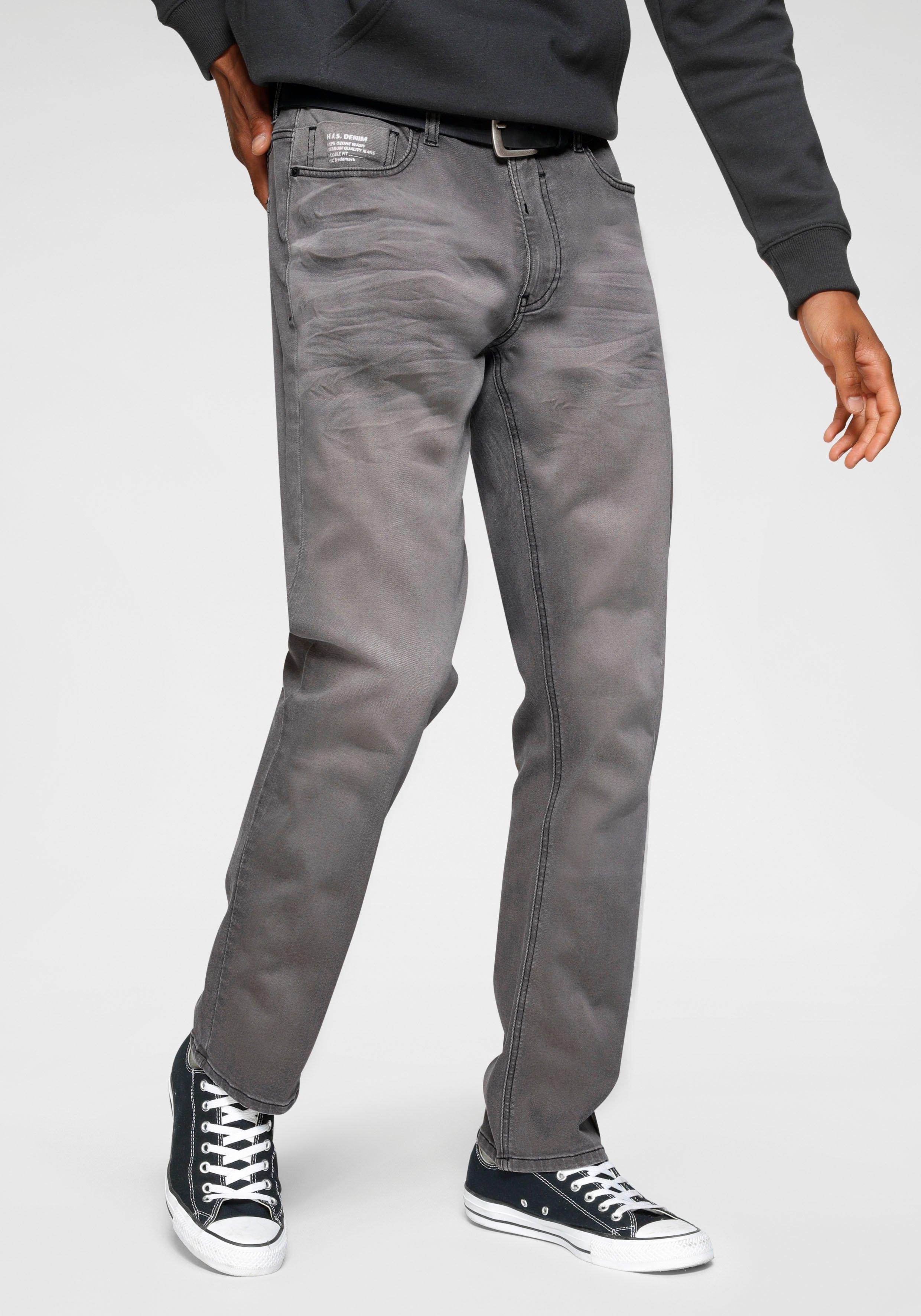 Op zoek naar een H.I.S straight jeans DIX Duurzame, waterbesparende productie door OZON WASH? Koop online bij OTTO