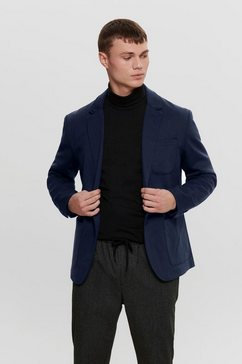 only  sons colbert bij een pak »mark blazer« blauw