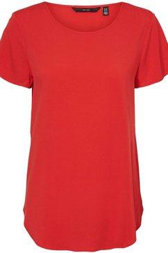 vero moda shirtblouse vmbecca rood