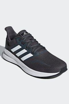 adidas performance runningschoenen »runfalcon« grijs