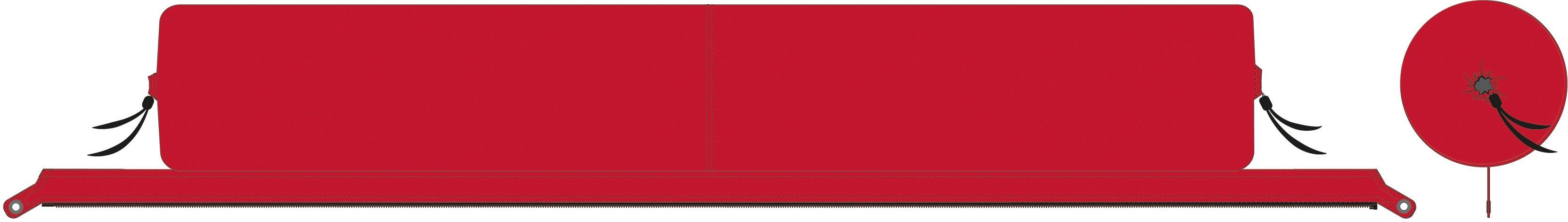 BENT sluimerrol XL Lounger Plain - verschillende betaalmethodes