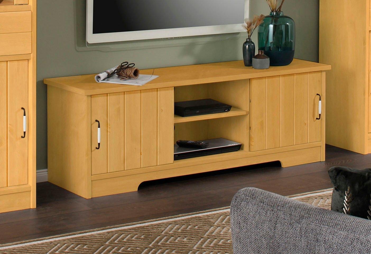Home affaire tv-meubel Paula van massief hout in de webshop van OTTO kopen