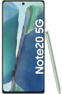 samsung smartphone galaxy note20 5g 3 jaar garantie groen