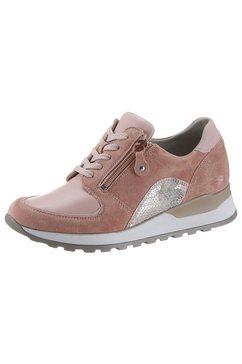 waldlaeufer sneakers met sleehak »hiroko-soft« beige