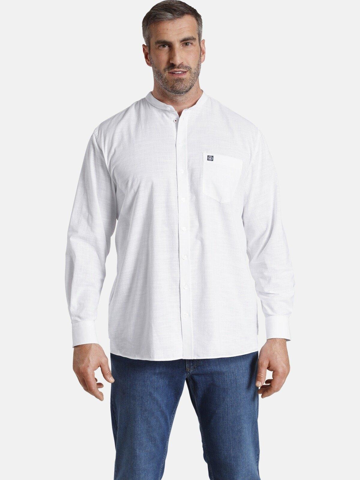 Jan Vanderstorm overhemd met lange mouwen KALLU in linnen look in de webshop van OTTO kopen