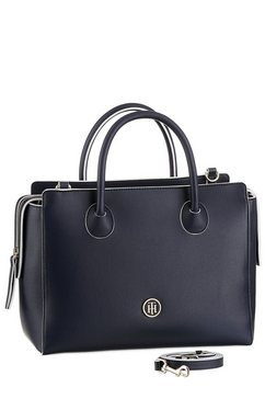 tommy hilfiger tas »charming tommy satchel« blauw