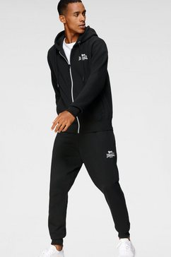 lonsdale joggingpak rottingdean (2-delig) zwart