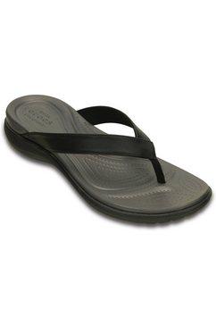 crocs badslippers capri v flip zwart