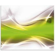 artland keukenwand kreatives element (1-delig) groen