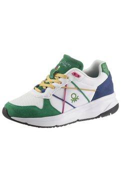 united colors of benetton sneakers met sleehak multicolor