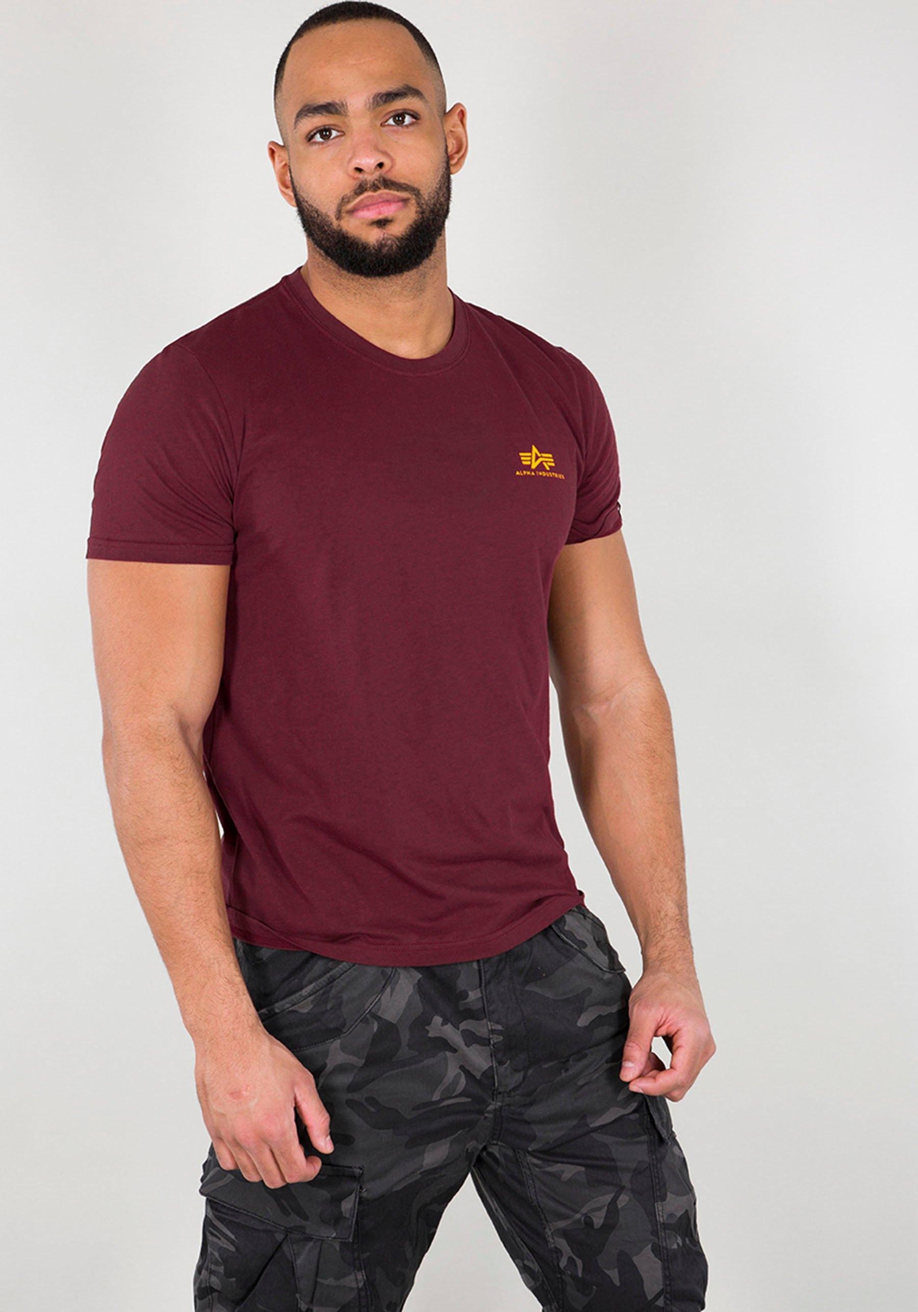 Alpha Industries Shirt met ronde hals BASIC T SMALL LOGO in de webshop van OTTO kopen