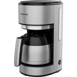 grundig filterkoffieapparaat km 5620 t, 1 l zilver
