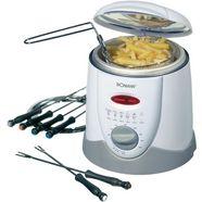 bomann fondue ffr 1290 cb weiss 1l 900w wit