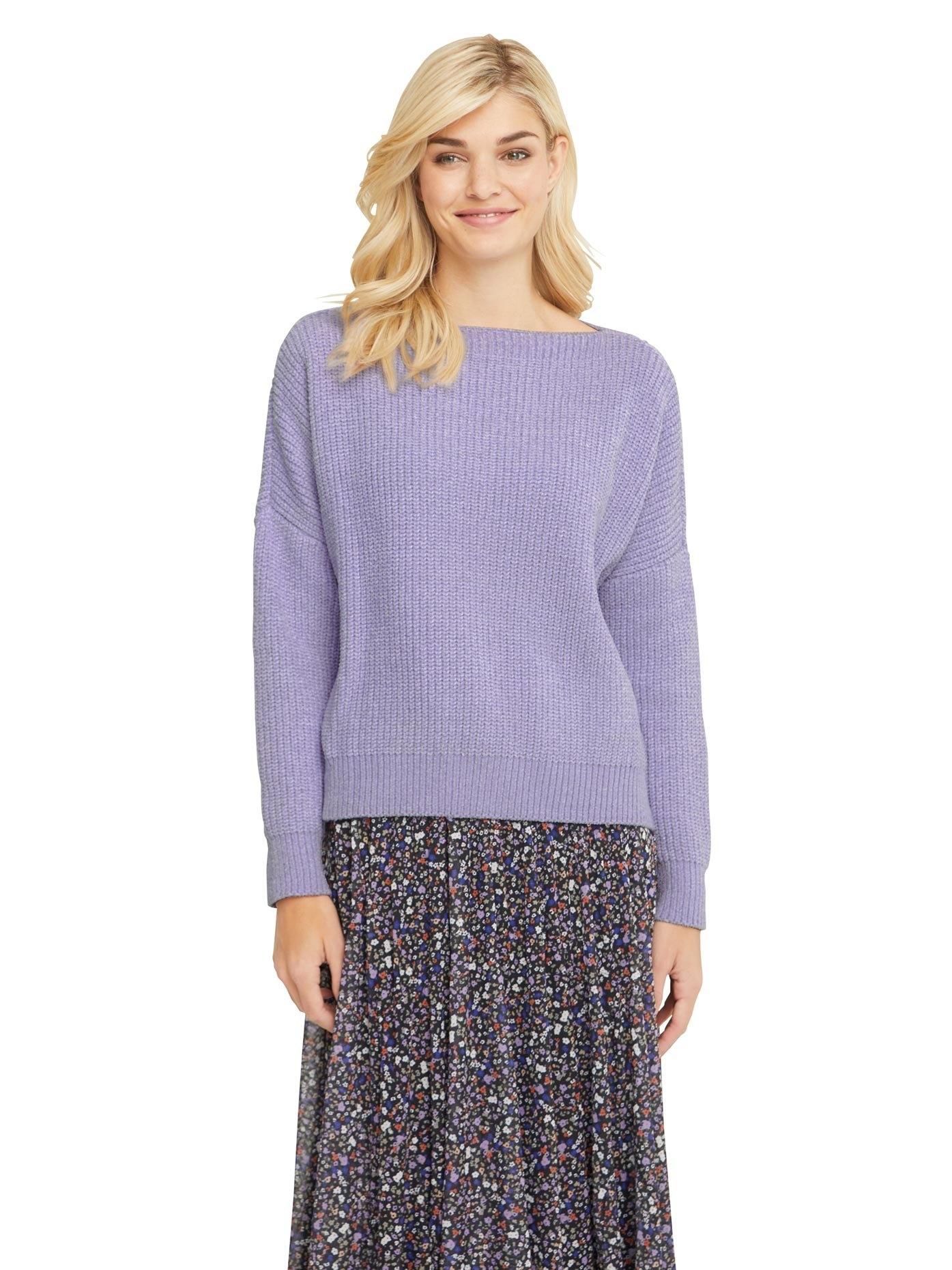 LINEA TESINI by Heine gebreide trui gemaakt van fluweelzacht chenillegaren online kopen op otto.nl