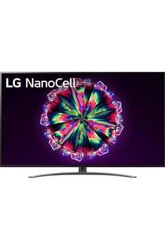 "lg led-tv 65nano867na, 164 cm - 65 "", 4k ultra hd, smart-tv, nanocell   100 hz scherm zwart"