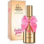 bijoux indiscrets glij- en massagegel bubble gum met verleidelijke geur wit