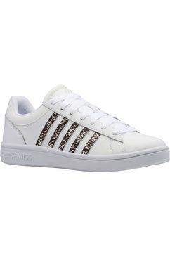 k-swiss sneakers »court winston« wit
