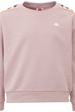 kappa sweatshirt »authentic hanka kids« roze