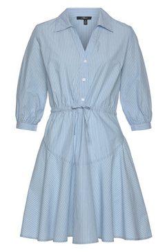 mavi jeans blousejurkje stripe dress blauw