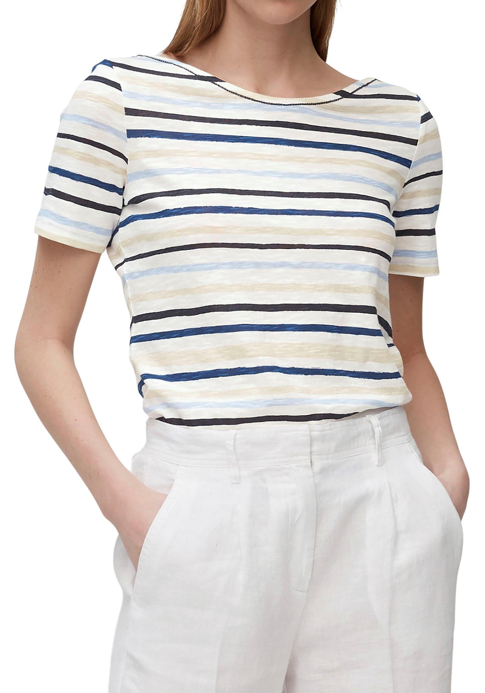 Marc O'Polo shirt met korte mouwen aantrekkelijke boothals veilig op otto.nl kopen