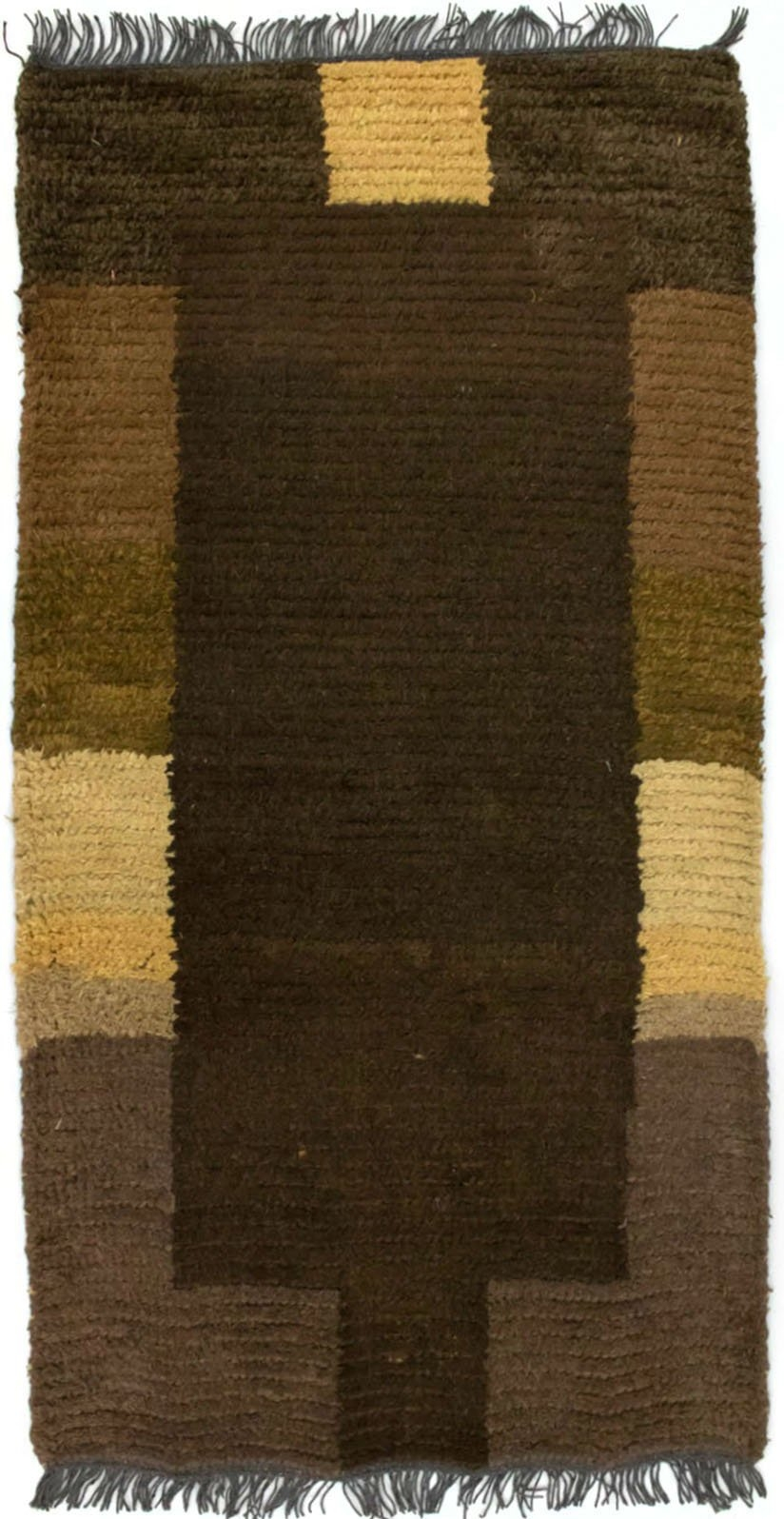morgenland wollen kleed Nepal Teppich handgeknüpft braun handgeknoopt - gratis ruilen op otto.nl