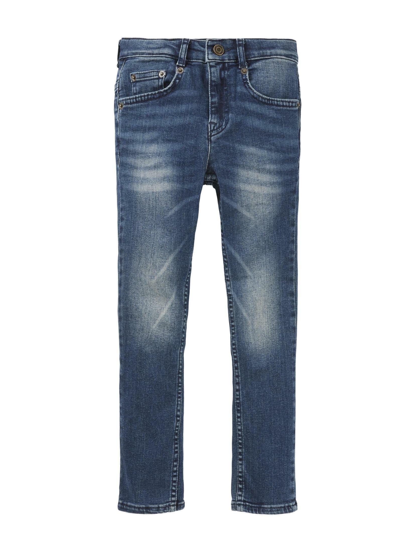 TOM TAILOR straight jeans »Matt Stretch Jeans« bestellen: 30 dagen bedenktijd