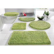badmat »sanremo«, my home, hoogte 30 mm, met antislip-coating, geschikt voor vloerverwarming groen